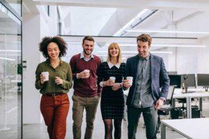 benefícios do café para melhorar o humor dos funcionários