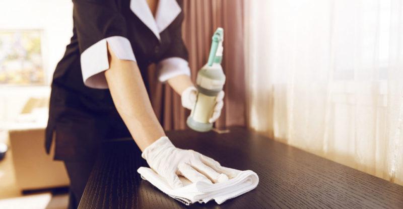 produtos de limpeza para hotel